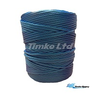 3mm Blue Braided Nylon Cord x 180m